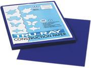 Pacon 103017 Tru Ray Construction Paper 76 lbs. 9 x 12 Royal Blue 50 Sheets Pack