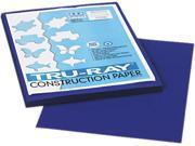 Pacon 103017 Tru Ray Construction Paper 76 lbs. 9 x 12 Royal Blue 50 Sheets Pack