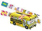 Pacon 0051450 Big School Bus Reward Stickers, Assorted Designs, 800 Stickers, 6/Pack 9SIV00C20C1653