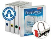 Cardinal 43110 EasyOpen FreeStand Binder With Locking Slant-D Rings, 1-1/2