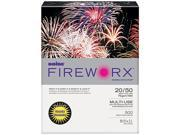 Boise MP2201-GRP FIREWORX Colored Paper, 20lb, 8-1/2 x 11, Golden Glimmer, 500 Sheets/Ream