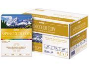 Boise ACC2811 ASPEN Color Copy Paper, 96 Brightness, 28lb, 8-1/2 x 11, White, 500 Sheets/Ream