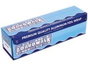 Boardwalk 7124 Heavy-Duty Aluminum Foil Rolls, 18 in. x 500 ft., Silver