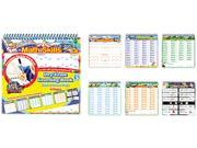 The Board Dudes 11225VA-4 SmartDudes Printing Learning Book, Math, Six Pages, Grade 3 and Up