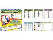 The Board Dudes 11050VA-4 SmartDudes Printing Book, Letters/Numbers/Shapes/Colors, Six Pages, Grade K +