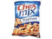 General Mills SN35181 Chex Mix, Traditional Flavor Trail Mix, 3.75oz Bag, 8 Bags/Box