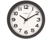 Howard Miller 625-485 Kenwick Wall Clock, 13-1/2in, Black