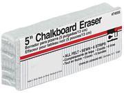 Charles Leonard 74555 5-Inch Chalkboard Eraser, Wool Felt, 5w x 2d x 1h