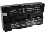 AML 180-7100 Battery, 2200 mAh for M7220, M7221, M71V2, M5900