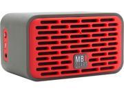 MB Quart QUB 2 Portable Bluetooth Speaker-Red