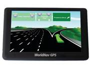 "TeleType 5.0"" High-resolution Truck GPS Navigation"