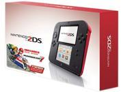 Nintendo  2DS Crimson Red (Includes Mario Kart 7)