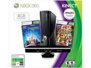 Microsoft Xbox 360 Console 4 GB Holiday Bundle w/ Kinect 2013 - Retail