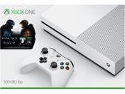 Microsoft Xbox One S 500GB Console Halo Collection Bundle