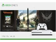 Xbox One S 1TB Console - Tom Clancys The Division 2 Bundle