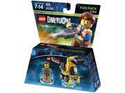 Warner Brothers LEGO Movie Emmet Fun Pack - LEGO Dimensions
