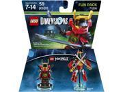 Warner Brothers Ninjago Nya Fun Pack - LEGO Dimensions