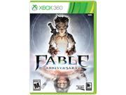 """Fable Anniversary Xbox 360 ESRB Rating: M - Mature Genre: RPG Features: Graphically updated to 1080P HD to unlock the power of Xbox 360  """"Fable Anniversary"""" is without a doubt a major leap visually over the original """"Fable"""" with stunning graphics and audio remastered for the Xbox 360"""