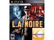 Pre-Owned L.A. NOIRE PS3
