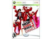 High School Musical 3: Senior year Dance w/Dance Mat Xbox 360 Game