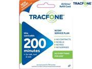 200 Minute Tracfone Airtime PIN Card with 90 Days of Service