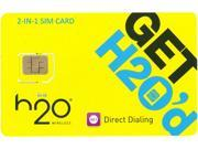 2 in 1SIM Card Standard and Micro