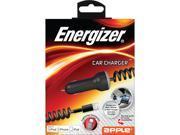 Energizer ENG-CCLCB Black 2.1A Apple Lightning Car Charger MFI