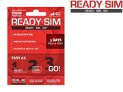 Ready SIM ARS-3TT 3 Day Talk and Text Plan