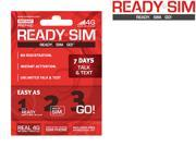 Ready SIM ARS-7TT 7 Day Talk and Text Plan