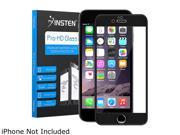 Insten Black Frame Premium Tempered Glass Screen Protector LCD Film Guard Shield For Apple iPhone 6 Plus 2113329