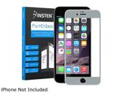 Insten Gray Frame Premium Tempered Glass Screen Protector LCD Film Guard Shield For Apple iPhone 6 Plus 2113328
