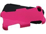 KTA Enterprises Pink on black mesh Plastic cover for iPhone 5c KTA 3999