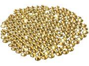 Insten Yellow 300-Pieces 5mm DIY Cell Phone Bling 1848104