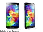 Insten Transparent Tempered Glass Screen Cover For Samsung Galaxy S5 / SV 1851793