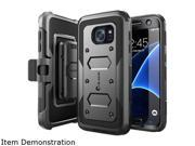 i-Blason Armorbox Black Galaxy S7 Dual Layer Full Body Protective Case GalaxyS7-Armorbox-Black