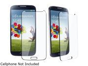 Insten Transparent Tempered Glass Screen Protector compatible with Samsung Galaxy S IV / S4 i9500 1412530