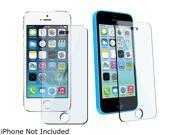 Insten Transparent Tempered Glass Screen Protector compatible with Apple iPhone 5/ 5S/ 5C 1496912