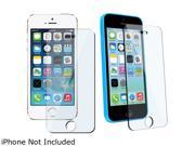 Insten Transparent 2 packs of Tempered Glass Screen Protector Compatible with Apple iPhone 5 / 5S / 5C 1572652