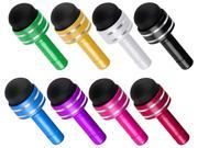Insten Multiple 8 Colors Pack 3.5mm Plug Cap Mini Stylus For Galaxy S6 S5 Note 4 Tab HTC One M9 M8 Cell Phone Tablet 2097019
