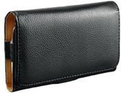 Insten Leather Wallet Phone Case Compatible with HTC One M7, Black