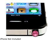 Insten Headset Dust Cap Compatible with HTC One M7, Pink Diamond