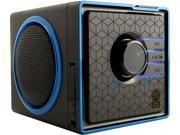 Gogroove (GGSVBX0110BKUS) SonaVERSE BX Portable Stereo Speaker System w/ Rechargeable Battery & 3.5mm Aux Port - Works With Apple, Samsung, HTC, Sony, Smartphone, Tablet, MP3 Player, Computer & more