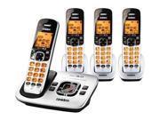 Uniden D1780-4 DECT 6.0 Cordless Phone w/ 3 Extra Handsets