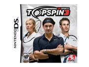 Top Spin 3 Nintendo DS Game 2K SPORTS