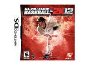 Major League Baseball 2k12 Nintendo DS Game 2K SPORTS