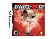 Major League Baseball 2k12 Nintendo DS Game