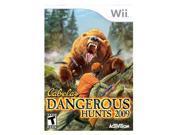 Cabela's Dangerous Hunts '09 Wii Game