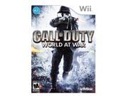 Call of Duty: World at War Wii Game