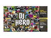 DJ Hero w/turntable Wii Game