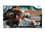 Cabela's Dangerous Hunts 2013 w/gun Wii Game